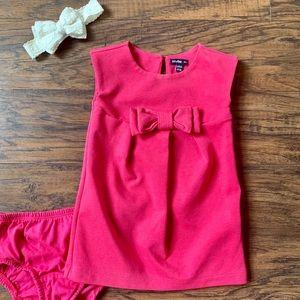 Gap Pink Bow Dress 12-18 months